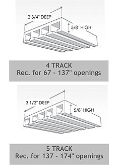 Panel Glide track specs