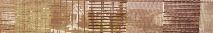 Roman shades for solar control