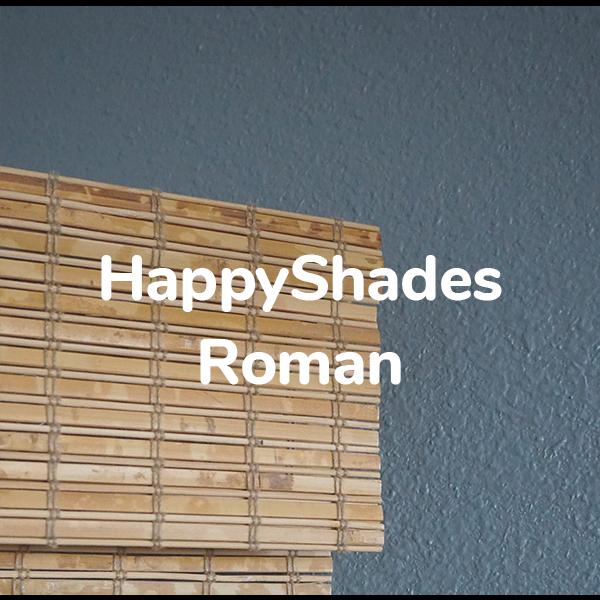 HappyShades Roman blinds