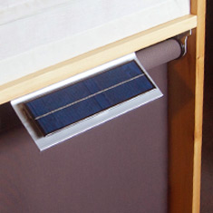 Solar Powered Roller Shade
